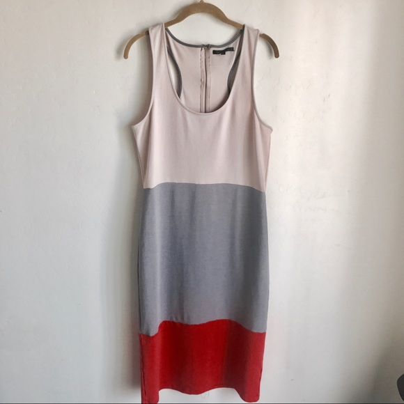 Lucca Couture Dresses & Skirts - UO Lucca Couture Color Block Sleeveless Dress Sz L